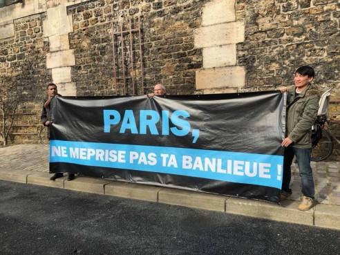 Banderole Paris