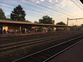 Quai gare Bouray