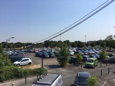 Parking gare juvisy