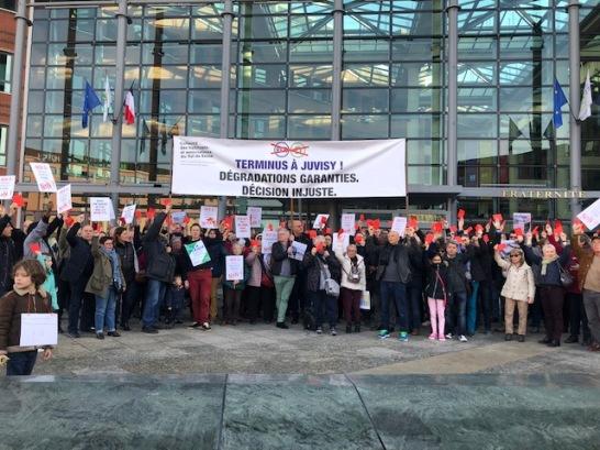 Manifestation RER D